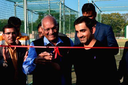 Gambhir inaugurates cricket training centre
