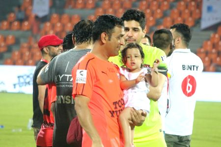 Indian team Vs Celebrity team football match - 2