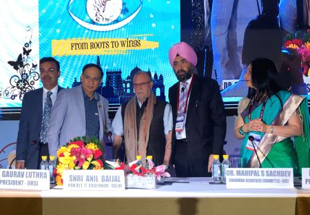 Delhi Lt Governor inaugurates conference on preventable blindness (With images)