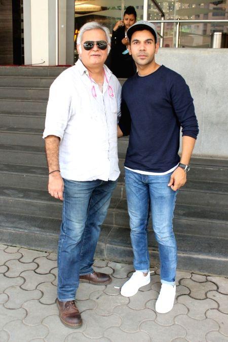 Jio MAMI 19th Mumbai Film Festival - Hansal Mehta and Rajkummar Rao