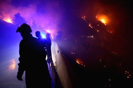 CROATIA-DUBCI-WILD FIRE