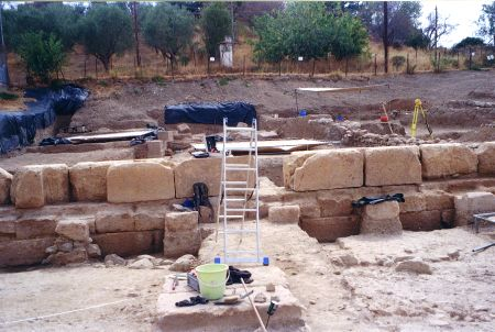 GREECE-EVIA-SANCTUARY-UNEARTHING