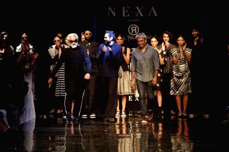 Amazon India Fashion Week Summer Spring 2017 - Sunil Sethi, Abhay Deol and Rajesh Pratap Singh