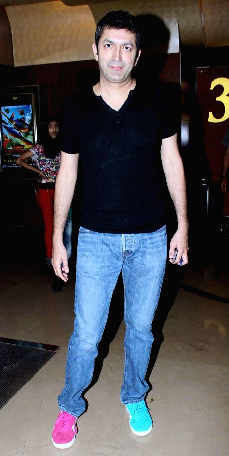 Filmmaker Kunal Kohli during the special screening of film Humpty Sharma ki Dulhania in Mumbai on July 10, 2014. - Kunal Kohli