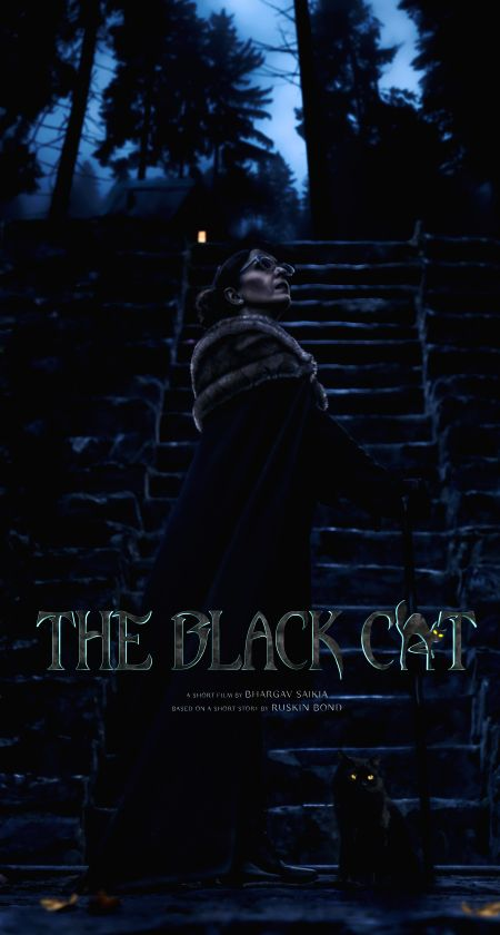 "First look of ""The Black Cat\"" out."