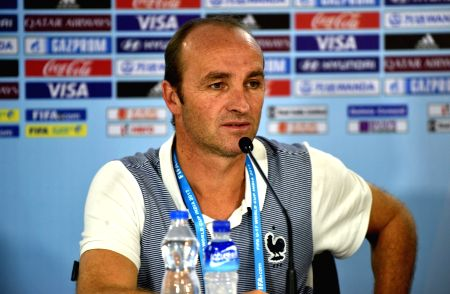 French coach's press conference