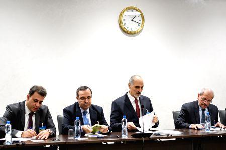 SWITZERLAND-GENEVA-SYRIA-PEACE TALKS-GOVERNMENT