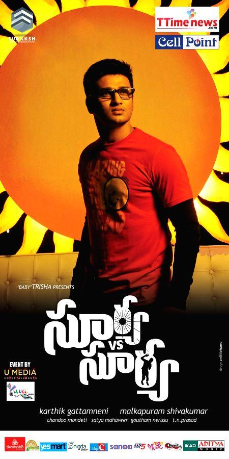 Stills from upcoming Telugu film `Surya Vs Surya`.