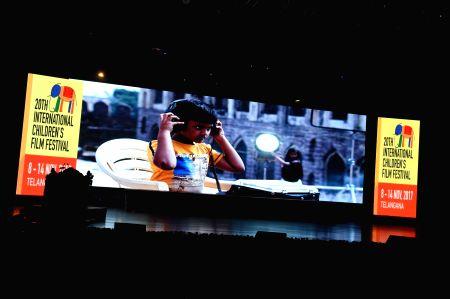 Inauguration of 20th International Children Film Festival of India