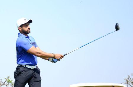 Yuzvendra Chahal, Karun Nair during Golf tournament