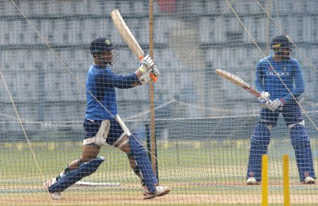 India practice session - MS Dhoni
