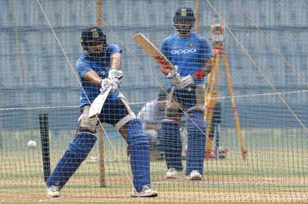 India practice session - Virat Kohli, Rohit Sharma