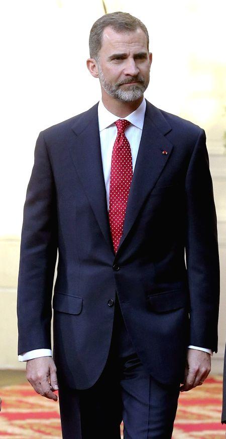 King of Spain Felipe VI. (File Photo: IANS)