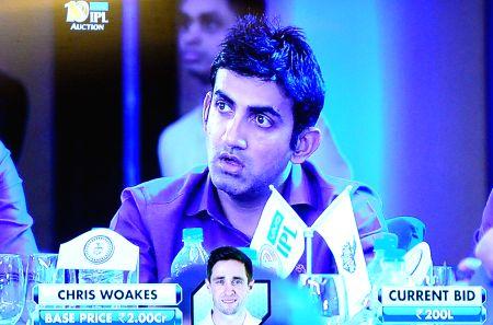 2017 IPL Auction - Gautam Gambhir