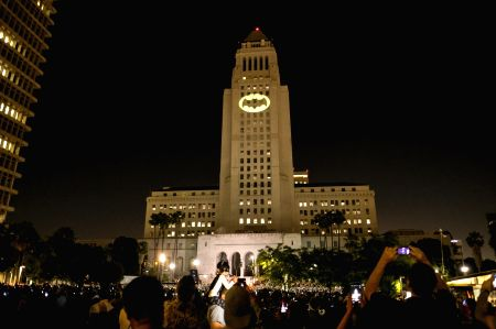 U.S.-LOS ANGELES-BATMAN-COMMEMORATION