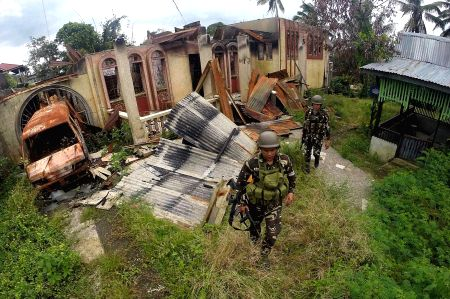PHILIPPINES-MARAWI-CLEARING UP OPERATIONS