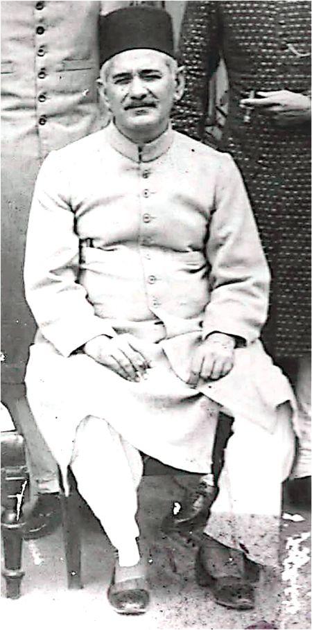 Mirza Farhatullah Baig in the Nizam's service