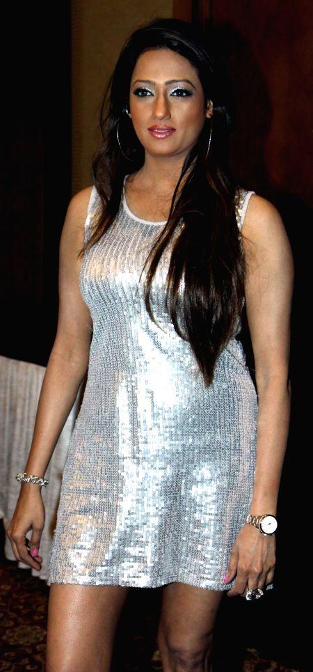 Brinda Parekh during the Mahurat of film Six X in Mumbai, on March, 01, 2015.