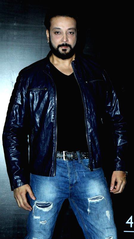 Santosh during the Mahurat of film Six X in Mumbai, on March, 01, 2015.