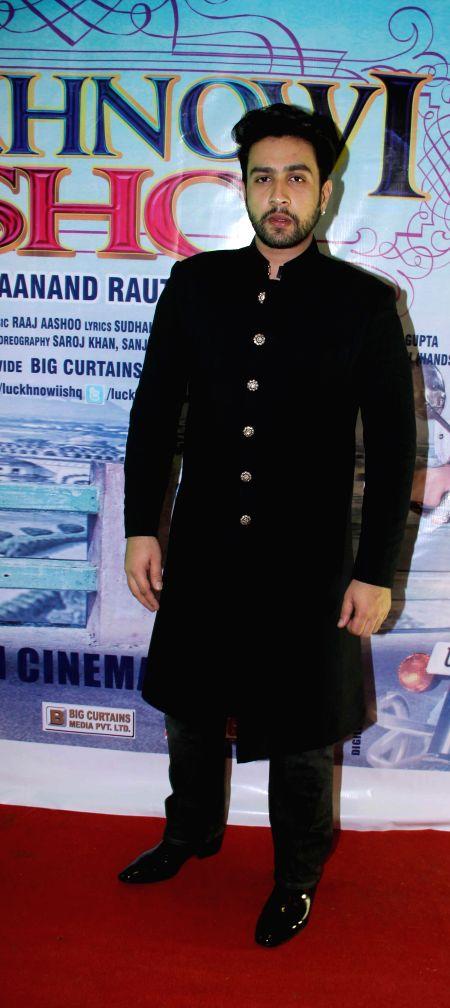 Actor Adhyayan Suman during the first look on film Luckhnowi Ishq in Mumbai on Tuesday, Jan 27, 2015. - Adhyayan Suman
