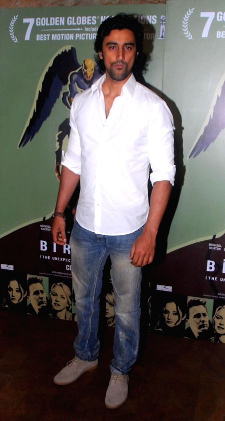 Actor Kunal Kapoor during the special screening of Hollywood film Birdman in Mumbai, on Jan. 16, 2015. - Kunal Kapoor
