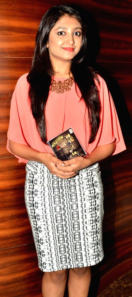 Bhoomi during the launch of Jazzbaat, a music album in Mumbai, on April 22, 2015.