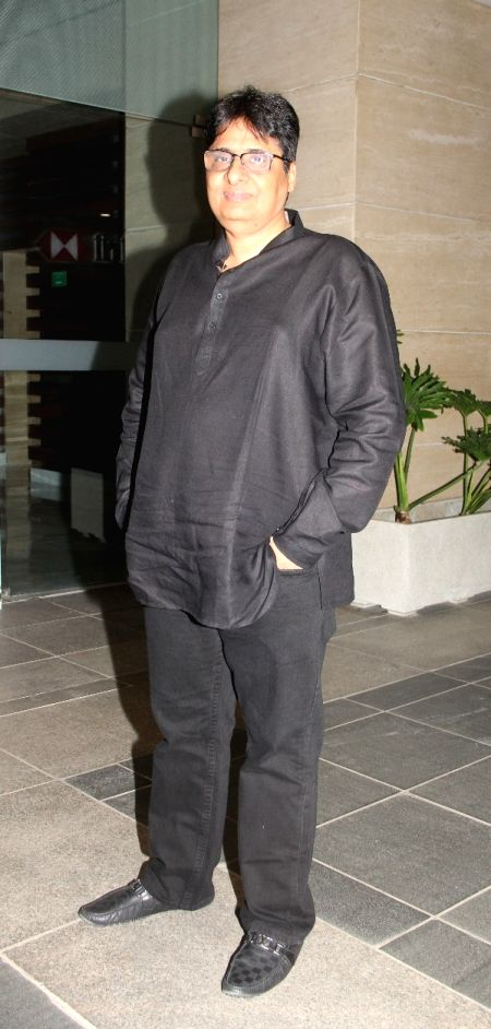 Vashu Bhagnani during the 50th birthday of Sangeethi Seetharaman, in Mumbai, on April 27, 2015. Politician Amar Singh hosted the party for Sangeethi Seetharaman who is the wife of Doha Bank ...
