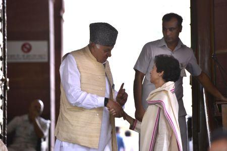 Parliament - Farooq Abdullah, Selja Kumari