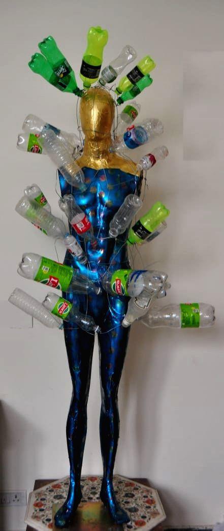 Plastic Kouros, by Anu Jindal