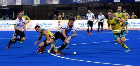 Hockey World League Final - Semi-Final - Australia Vs Germany