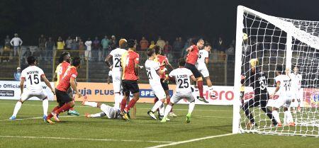 Barasat (West Bengal): I-League - East Bengal FC Vs Shillong Lajong FC
