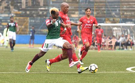 I-League - Mohun Bagan Vs Churchill Brothers