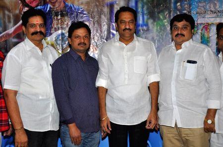 Press meet of Telugu film