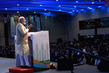 Modi at opening ceremony of 52nd Annual Meetings of the African Development Bank