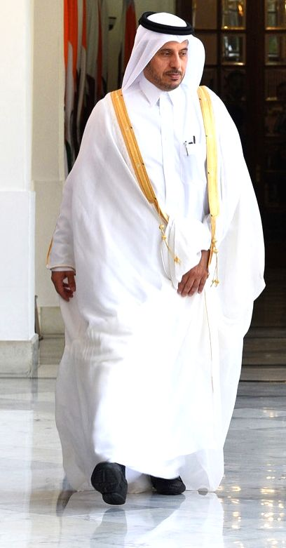 Prime Minister of Qatar Sheikh Abdullah bin Nasser bin Khalifa Al Thani. (File Photo: IANS) - Sheikh Abdullah
