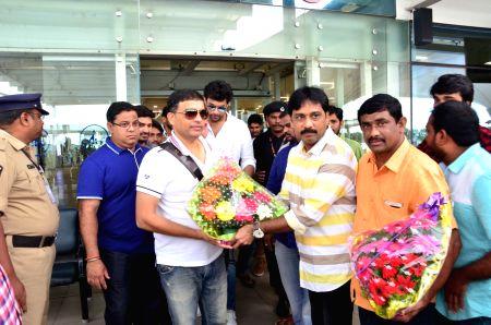 Dil Raju & Varun Tej spotted at Airport