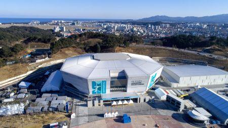 SOUTH KOREA-PYEONGCHANG-WINTER OLYMPIC GAMES-VENUES-GANGNEUNG COASTAL CLUSTER