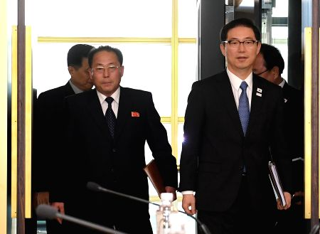 SOUTH KOREA-DPRK-WINTER OLYMPICS-TALKS