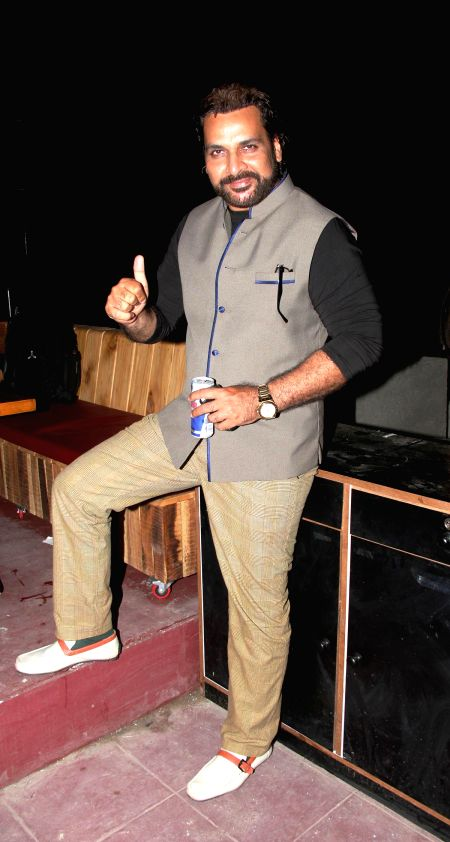 Shahbaz Khan during the launch of Rude Lounge`s Powai branch opening in Mumbai on June 14, 2014. - Shahbaz Khan