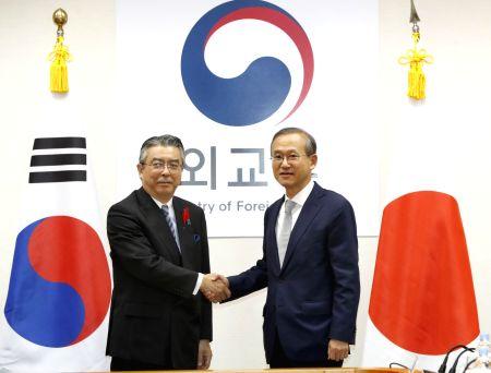S. Korea-Japan dialogue