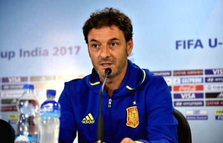 Santiago Denia's press conference
