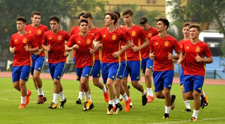 FIFA U-17 World Cup 2017 -  Round of 16 - Practice session - Spain