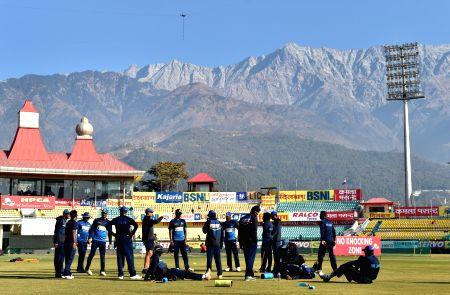 Sri Lanka - practice session