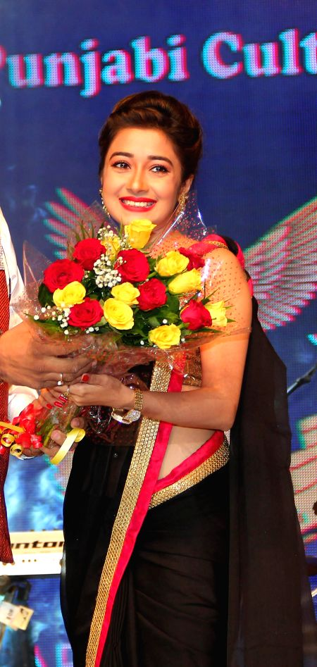 Tina Dutta At Baisakhi Di Raat during the Baisakhi celebrations organized by the Punjabi Cultural Heritage Board in Mumbai on April 11, 2014.