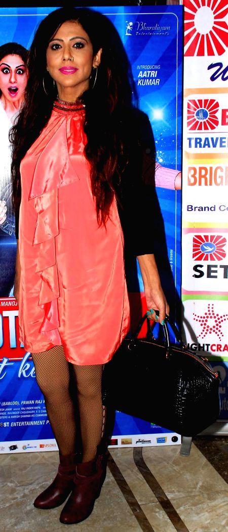 Tina Ghai during the trailer and music launch of film Khota Sikka in Mumbai on Aug 31, 2014.