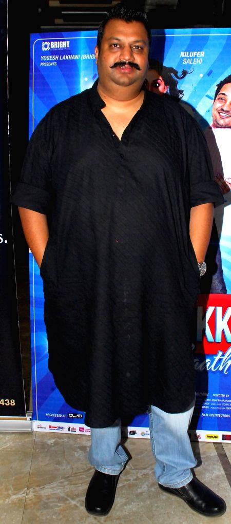 Udbhav Ojha during the trailer and music launch of film Khota Sikka in Mumbai on Aug 31, 2014.