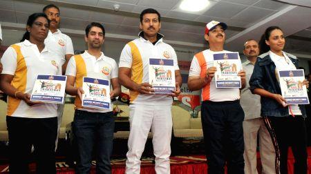 BSF Half Marathon - Rajyavardhan Singh Rathore, Abhinav Bindra
