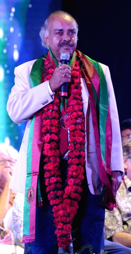 Veteran footballer Pradip Choudhury during Mohun Bagan Day celebrations in Kolkata on July 29, 2018. - Pradip Choudhury