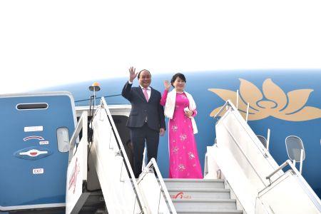 Vietnamese PM arrives in Delhi
