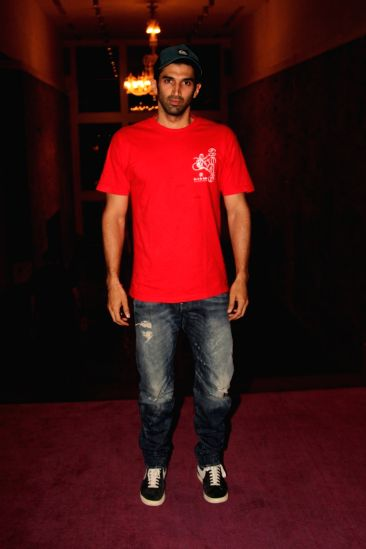 Actor Aditya Roy Kapur during the 7th National Laadli Media and Advertising Awards for Gender Sensitivity 2014-2015,  in Mumbai, on April 13, 2016.